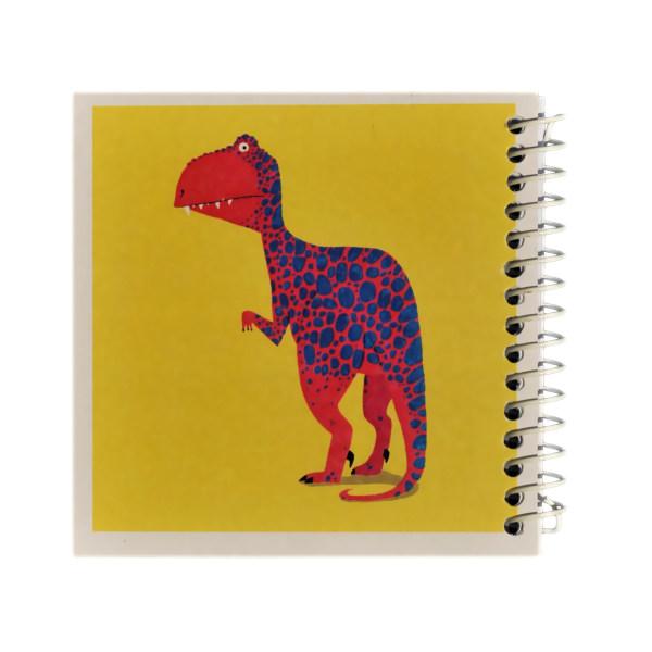 دفتر یادداشت ژوست طرح دایناسور قرمز مدل کژوال کد ۰۱