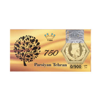 پلاک طلا 18 عیار پارسیان کد P900