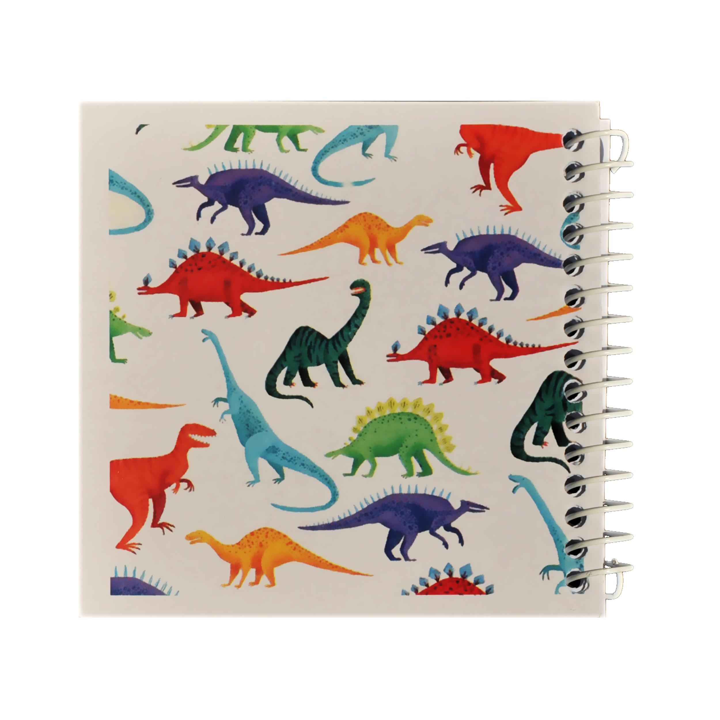 دفتر یادداشت ژوست طرح دایناسور ها مدل کژوال کد ۰۱