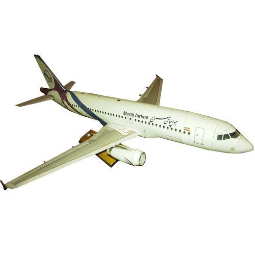 ساختنی طرح ایر باس 320 هواپیمایی معراج