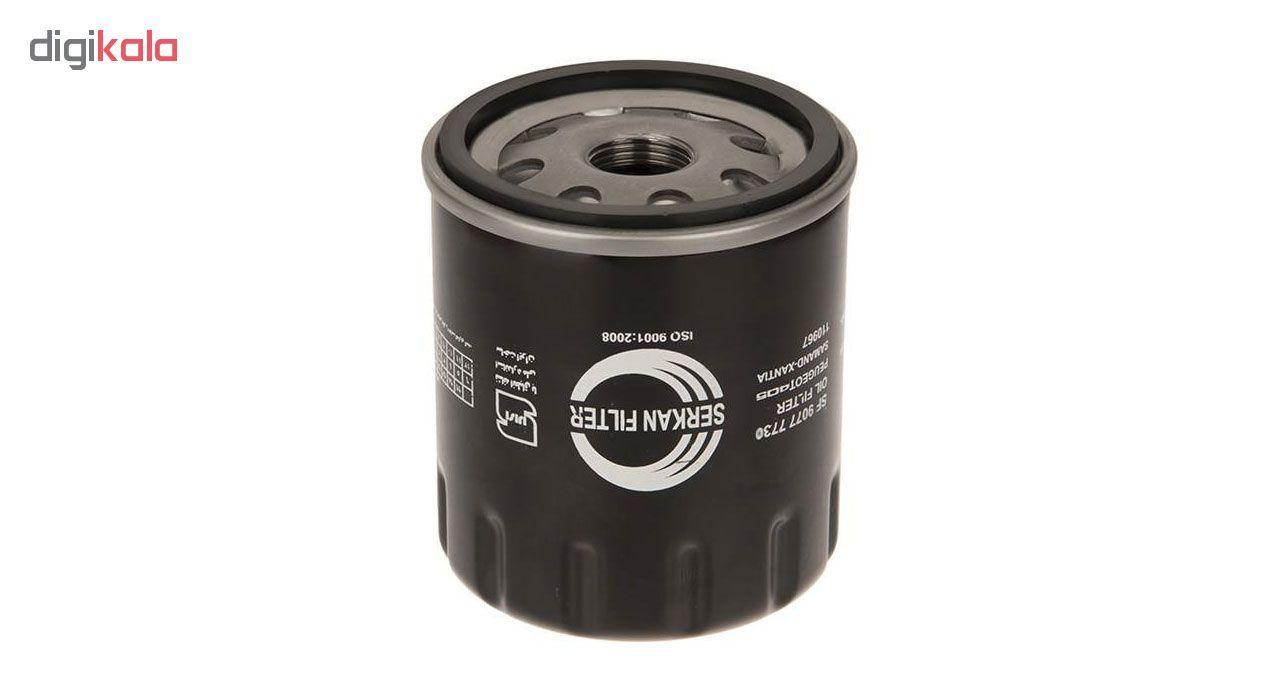 فیلتر روغن خودرو سرکان مدل SF7163 main 1 2