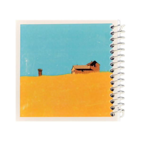 دفتر یادداشت ژوست طرح مزرعه و خانه کوچک مدل کژوال کد ۰۱