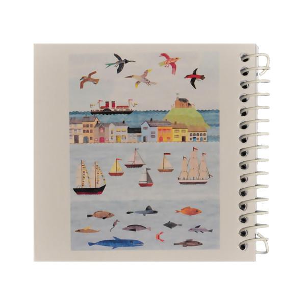دفتر یادداشت ژوست طرح شهر ساحلی مدل کژوال کد ۰۱