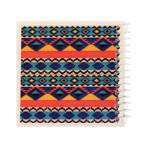 دفتر یادداشت ژوست طرح موتیو لوزی مدل کژوال کد ۰۱
