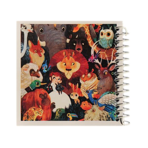 دفتر یادداشت ژوست مهمان ناخوانده ی جنگل مدل کژوال کد ۰۱