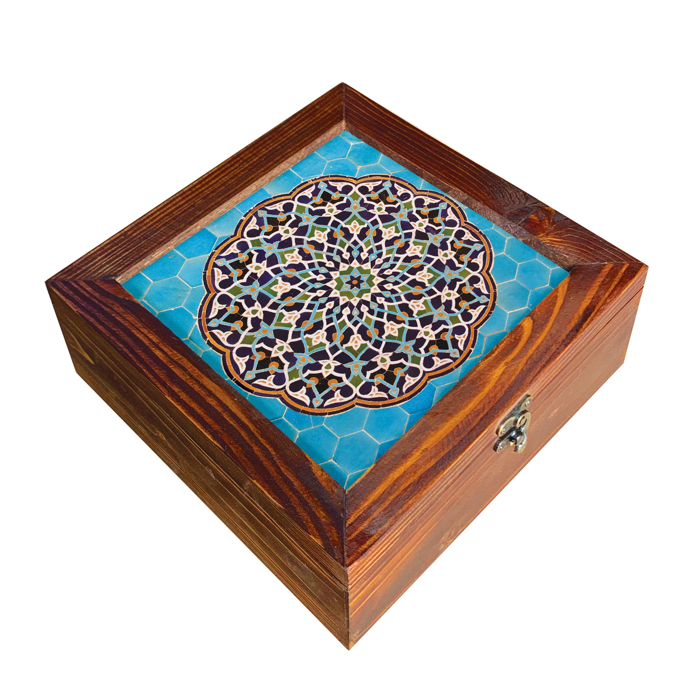 جعبه هدیه چوبی کد  SD-02
