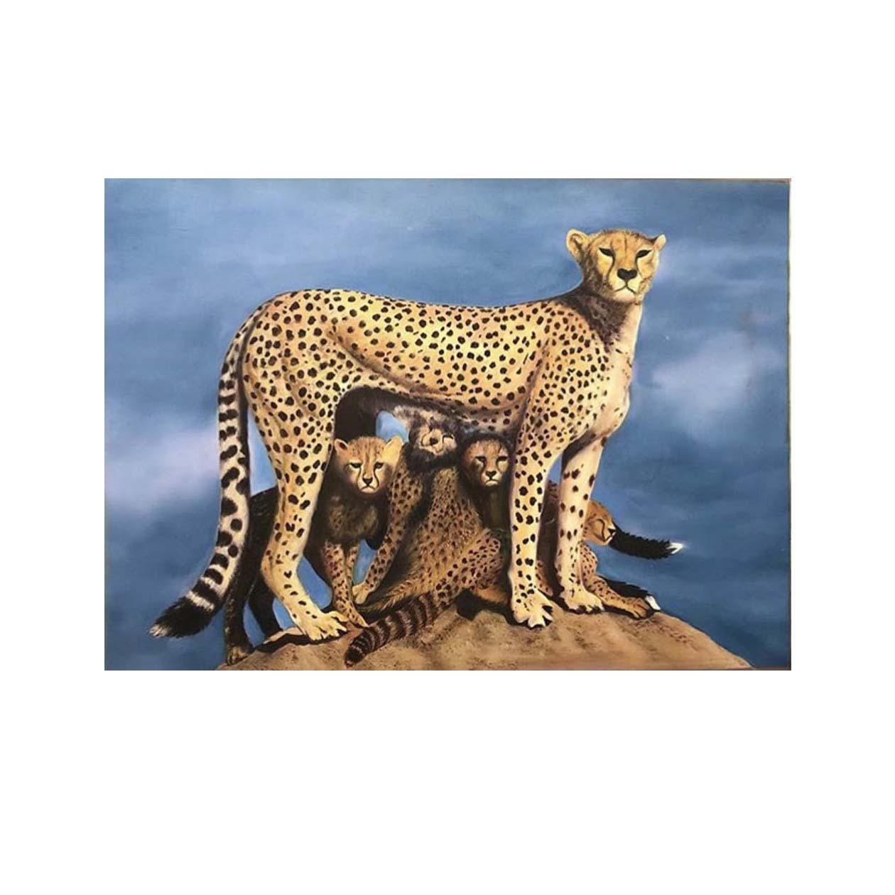 تابلو نقاشی رنگ روغن طرح مادر  کد 11001