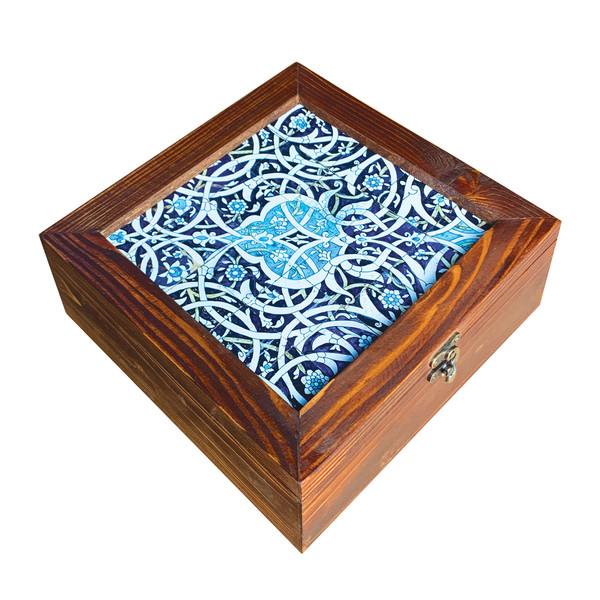 جعبه هدیه چوبی کد  SD-03