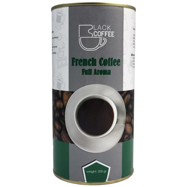 قهوه فرانسه بلک کافی کد F12 مقدار 200 گرم