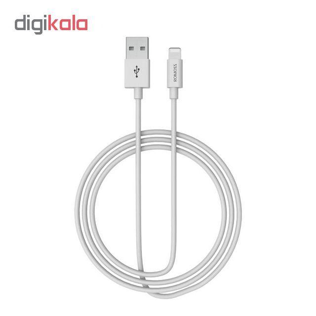 کابل تبدیل USB به لایتنینگ روموس مدل CB12 طول 1 متر main 1 3