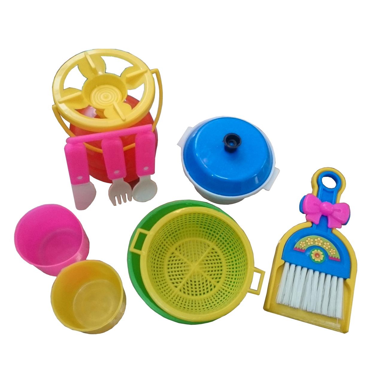 خرید                     ست اسباب بازی وسایل آشپزخانه کد 41