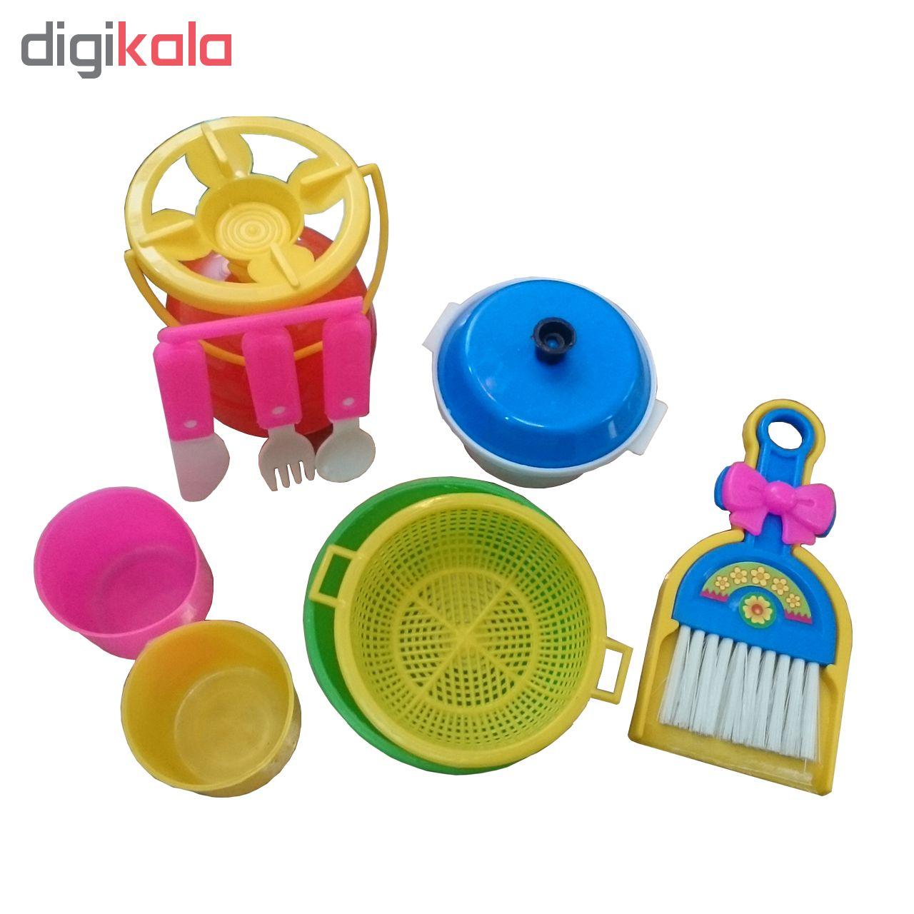 ست اسباب بازی وسایل آشپزخانه کد 41 main 1 1