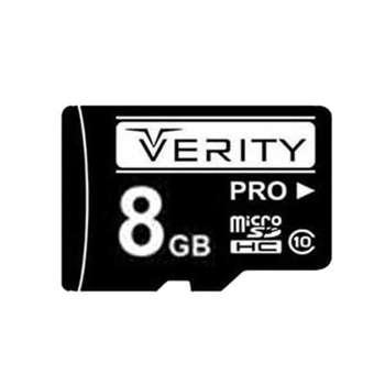 کارت حافظه microSDHC وریتی مدل V30 کلاس 10 استاندارد UHS-I U1 سرعت 30MBps ظرفیت 8 گیگابایت
