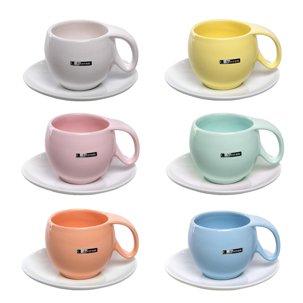عکس سرویس چای خوری 12 پارچه آی سرام کد 4026
