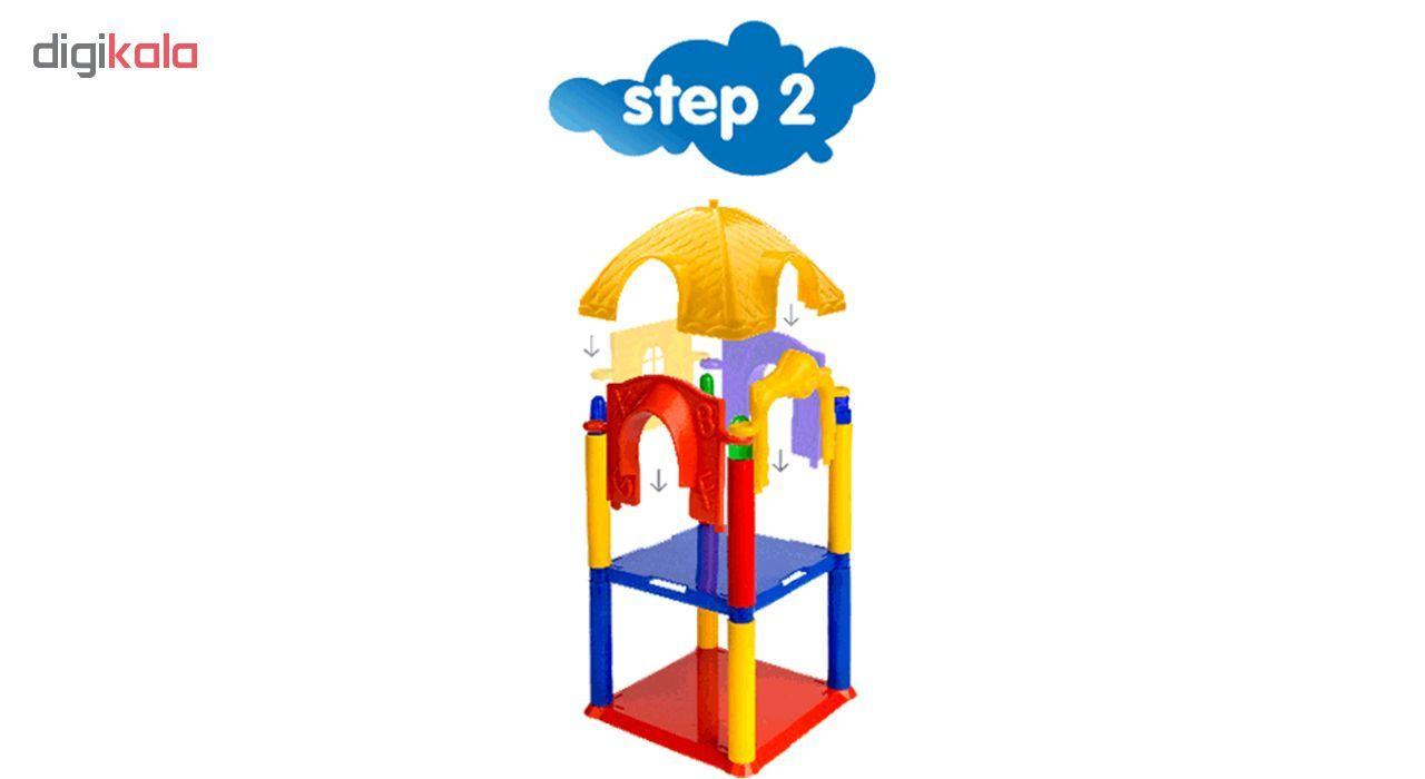 ساختنیtak toy مدل Happy Park Blocks کد 1077
