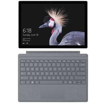 تبلت مایکروسافت مدل Surface Pro 2017 - K به همراه کیبورد Signature Platinum