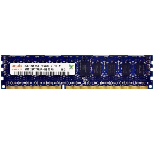 رم سرور DDR3 تک کاناله 1333 مگاهرتز CL9 هاینیکس مدل HMT125R7TFR8A-H9 T7 AB-C ظرفیت 2 گیگابایت