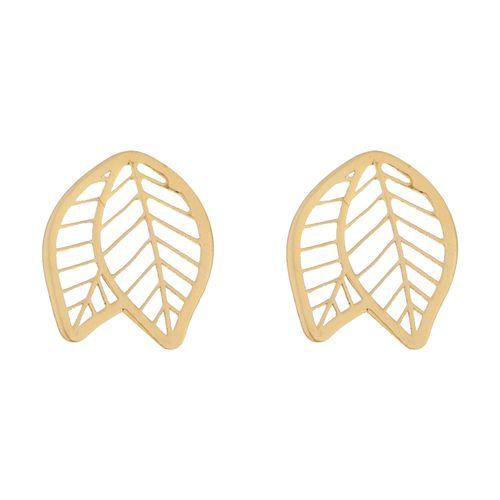 گوشواره طلا 18 عیار زنانه میو استار مدل EG184