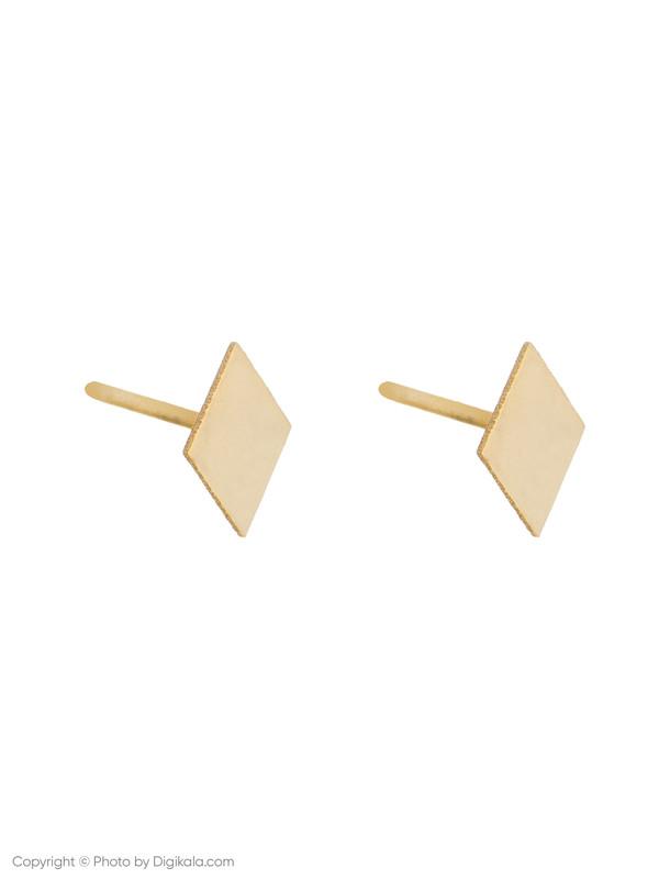 گوشواره طلا 18 عیار زنانه میو استار مدل EG183