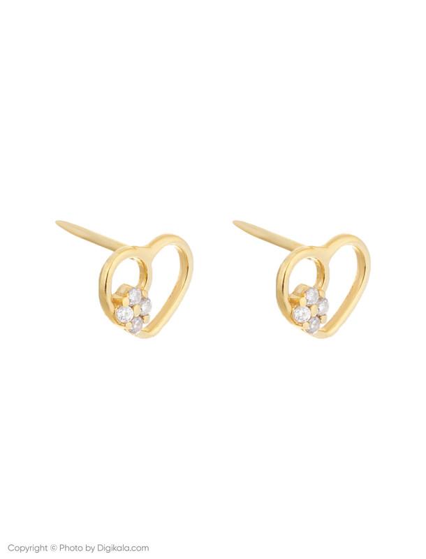 گوشواره طلا 18 عیار زنانه میو استار مدل EG178