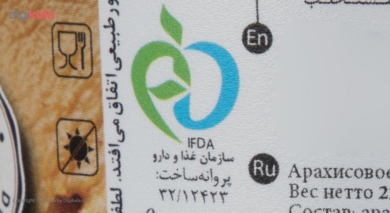 کره بادام زمینی بدون شکر دکتر بادام مقدار 220 گرم