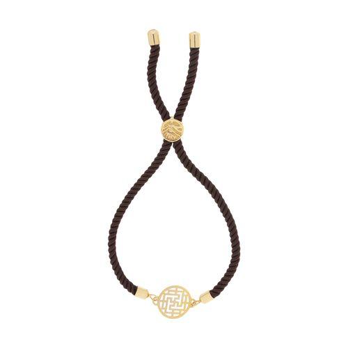 دستبند طلا 18 عیار زنانه میو استار مدل BA17