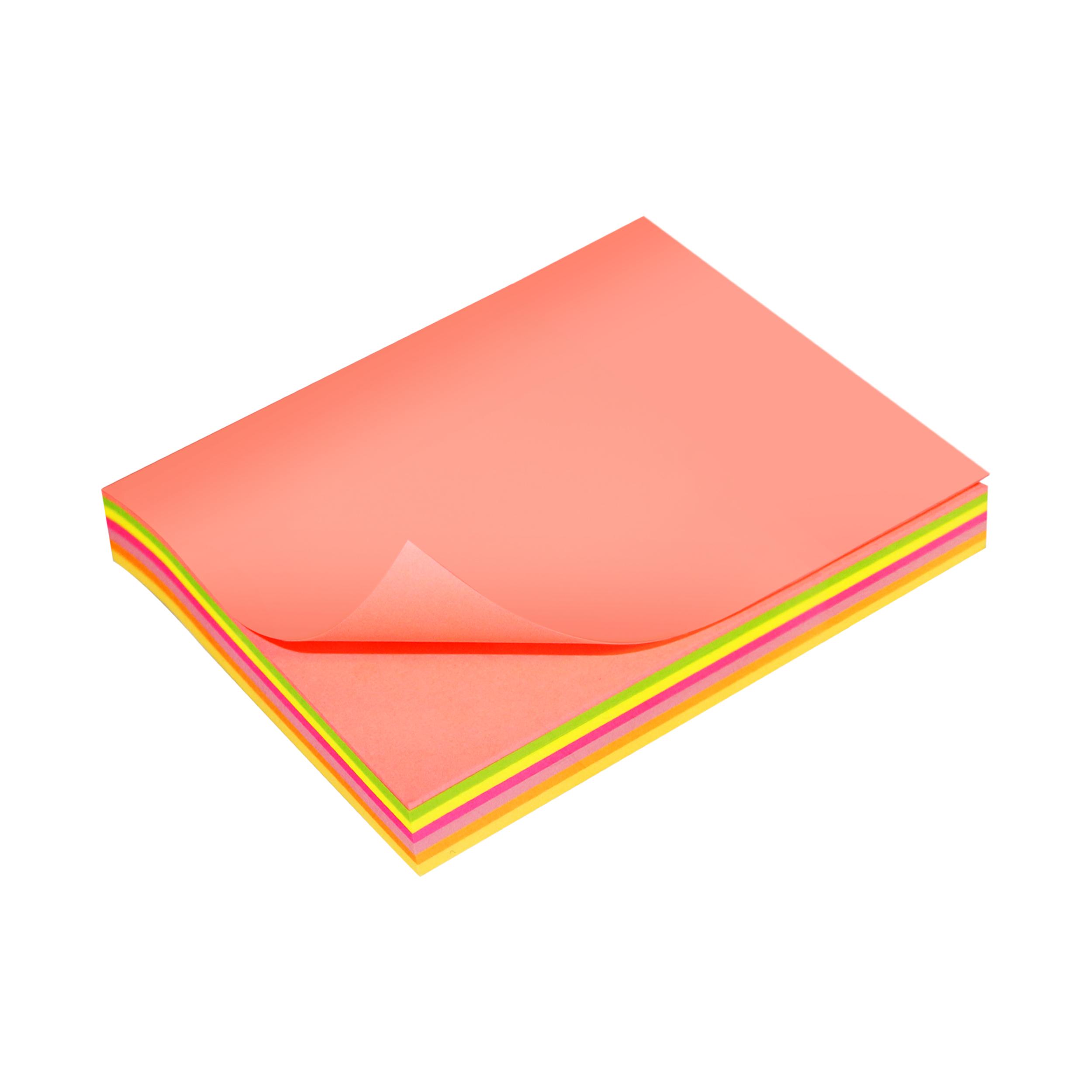 کاغذ یادداشت چسب دار سان رایز  کد STN-100-MC-100  بسته 100 عددی