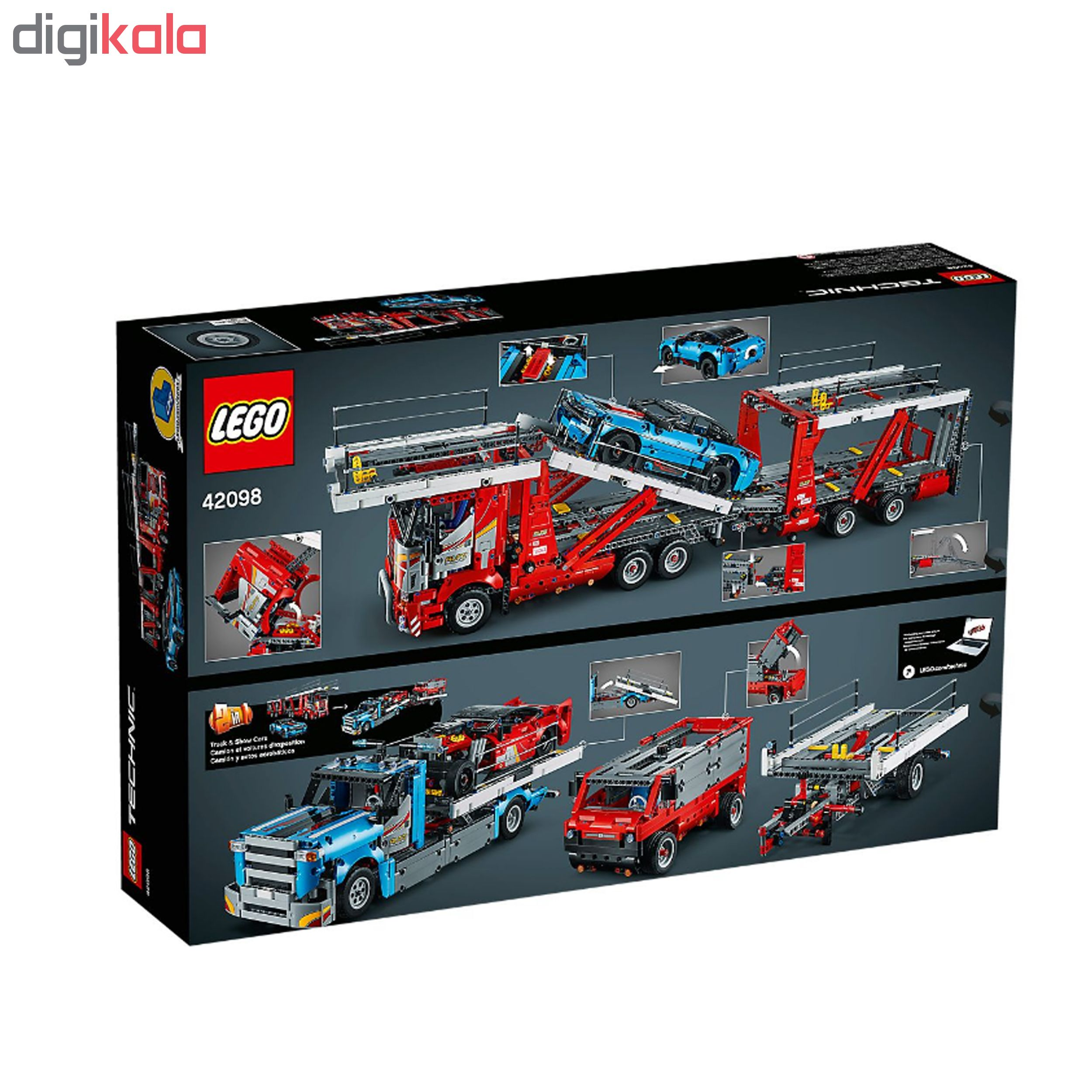 لگو سری Technic مدل Car Transporter کد 42098