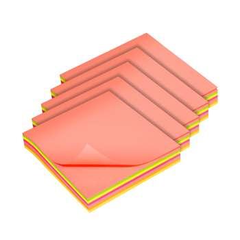 کاغذ یادداشت چسب دار سان رایز  کد STN-075-MC-100 بسته 5 عددی