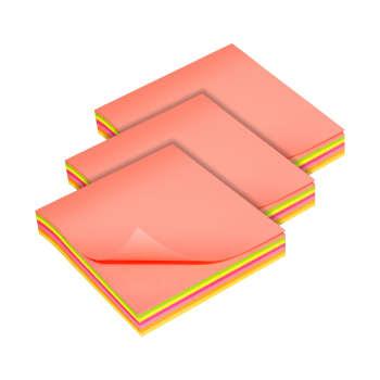 کاغذ یادداشت چسب دار سان رایز  کد STN-075-MC-100 بسته سه عددی