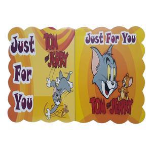 کارت دعوت طرح تام و جری کد 913 بسته 45 عددی