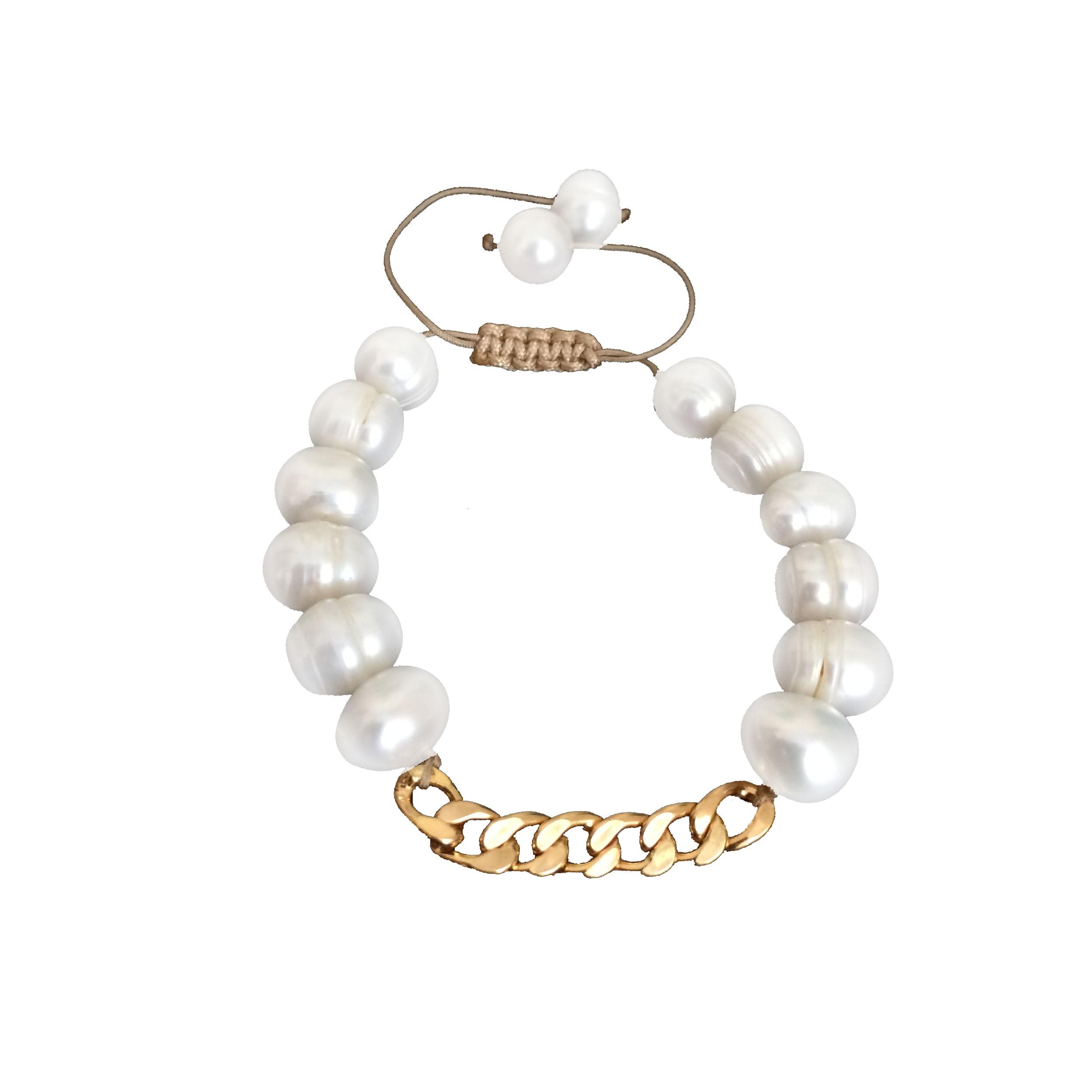 دستبند طلا 18 عیار زنانه کد N14