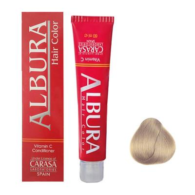 تصویر رنگ مو آلبورا مدل carasa شماره 8.47 حجم 100 میلی لیتر رنگ بلوند نسکافه ای روشن