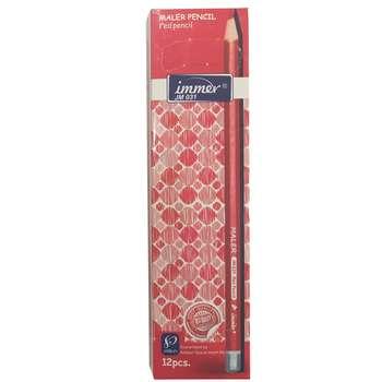 مداد قرمز ایمر مدل JM031 بسته 12 عددی