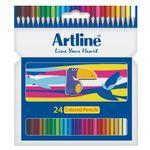 مداد رنگی 24 رنگ آرت لاین مدل ECP24-P/IL