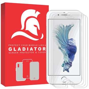 محافظ صفحه نمایش گلادیاتور مدل IN3-6 مناسب برای گوشی موبایل اپل Iphone 6/6s بسته سه عددی