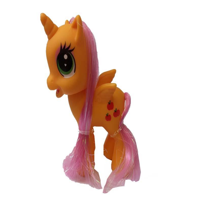 عروسک طرح اسب پونی کد 001 ارتفاع 9 سانتی متر