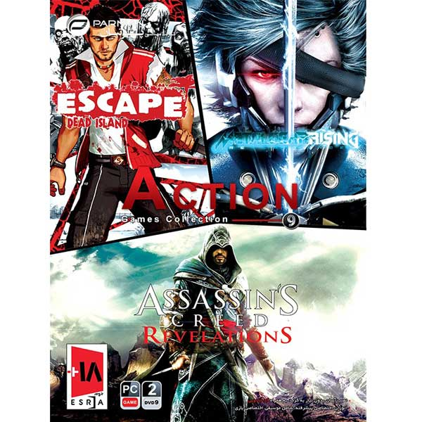 مجموعه بازی Action Games Collection 9 مخصوص PC