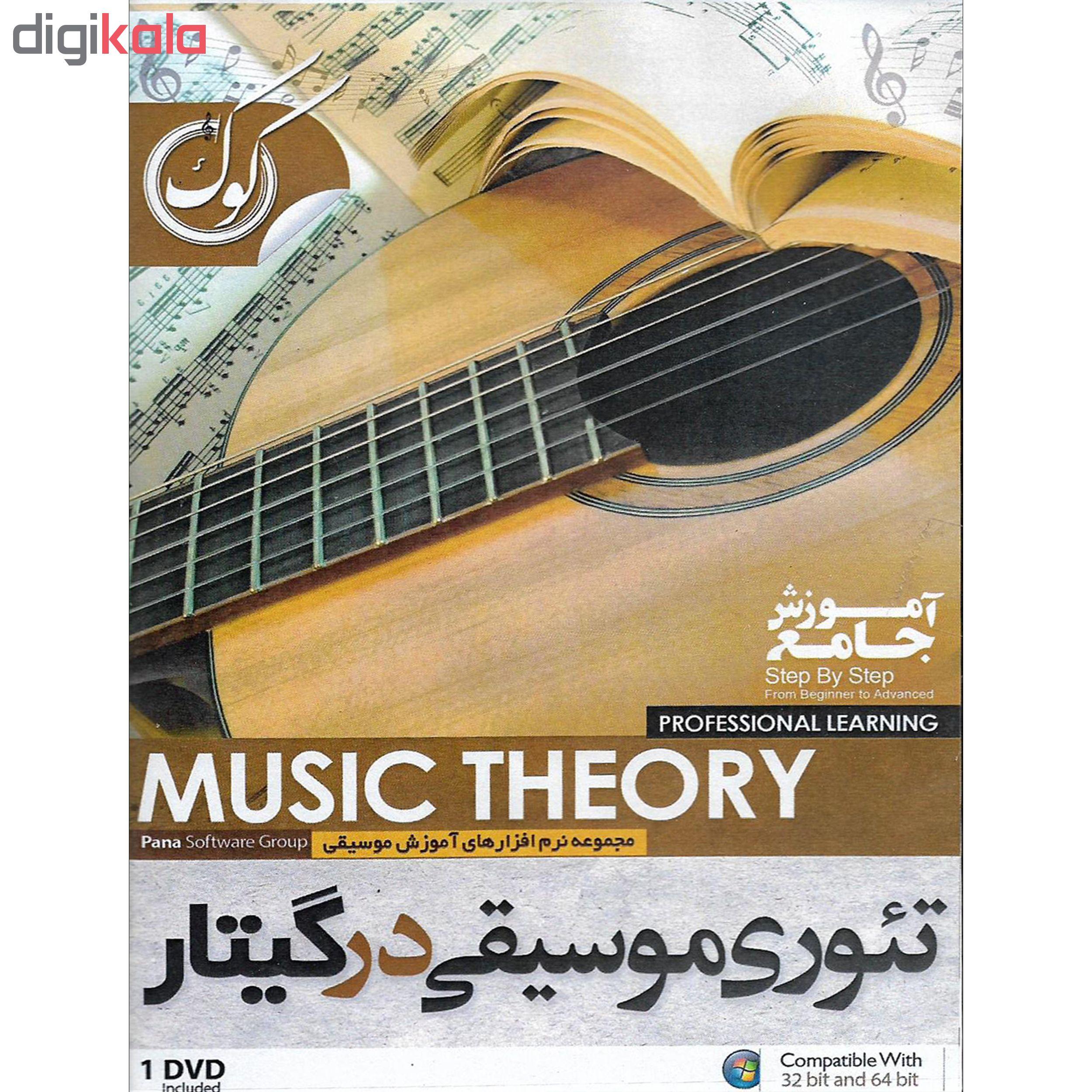 نرم افزار آموزش گیتار در 21 روز نشر الکترونیک پانا به همراه نرم افزار آموزش تئوری موسیقی در گیتار نشر الکترونیک پانا