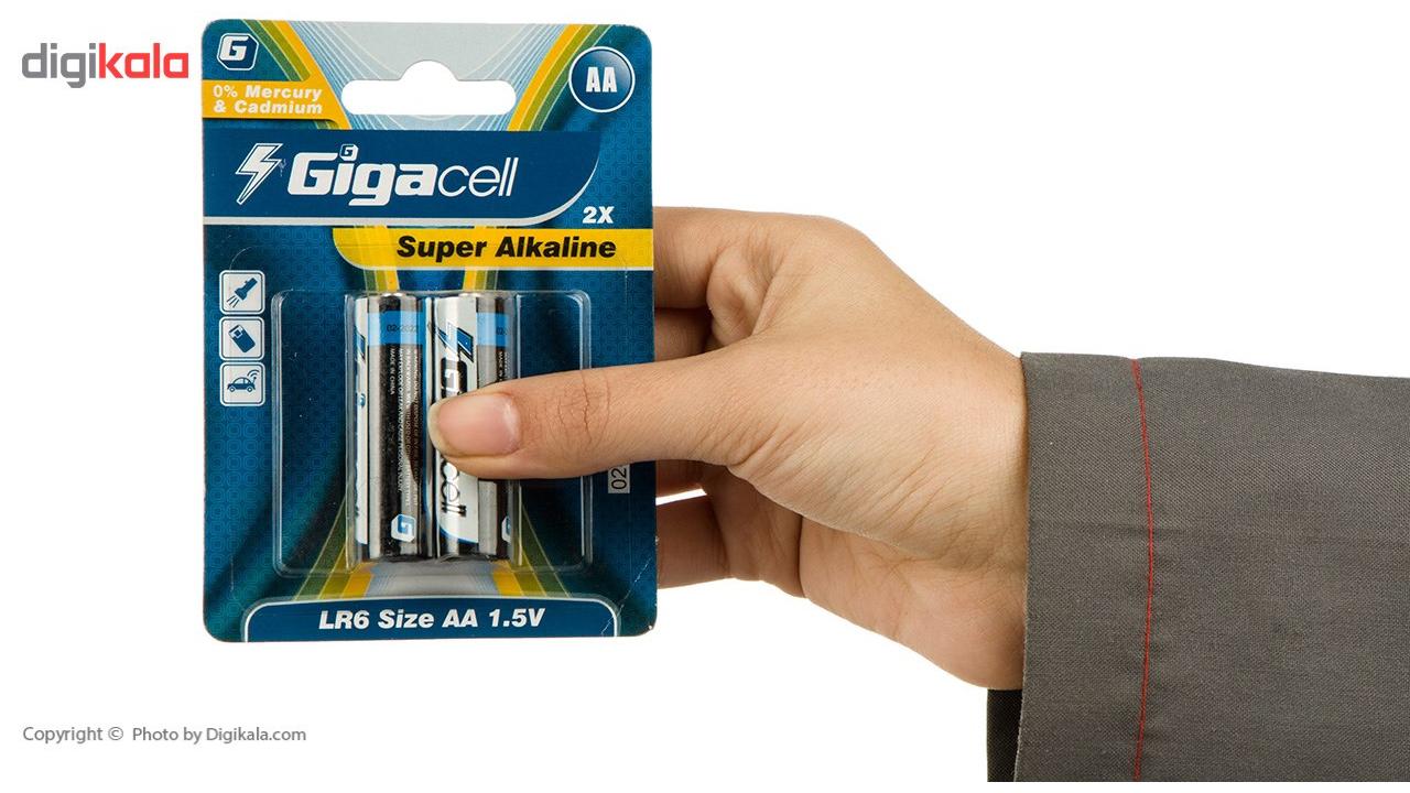 باتری قلمی و نیم قلمی گیگاسل مدل Super Alkaline - بسته 4 عددی main 1 5