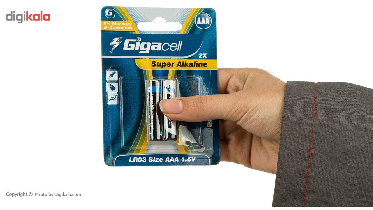باتری قلمی و نیم قلمی گیگاسل مدل Super Alkaline - بسته 4 عددی main 1 4