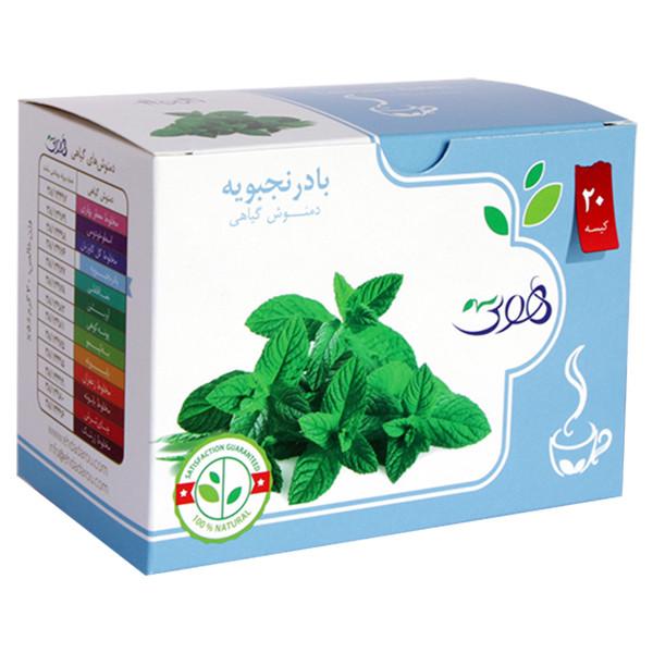 دمنوش گیاهی بادرنجبویه هوتی بسته 20 عددی