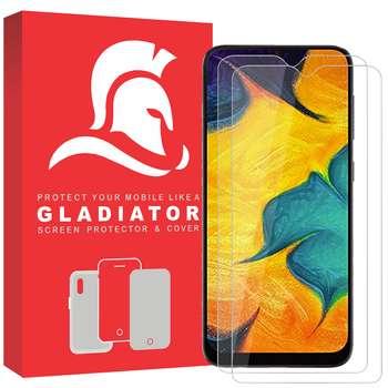 محافظ صفحه نمایش گلادیاتور مدل GLS2000 مناسب برای گوشی موبایل سامسونگ Galaxy A30 بسته دو عددی
