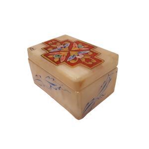جعبه سنگ مرمر طرح گل کد 3064