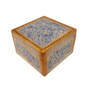 جعبه سنگ مرمر طرح گل ریز کد 30805