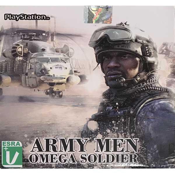 بازی Army Men Omega Soldier مخصوص ps1