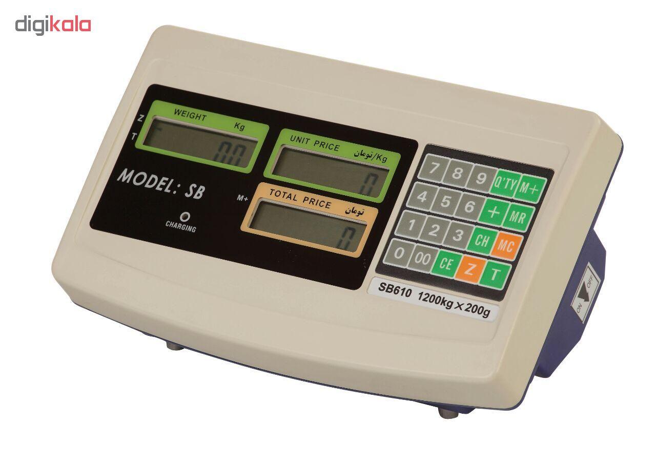 باسکول دیجیتال بی نظیر مدل MB63