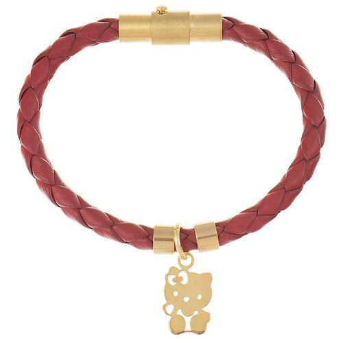 دستبند دخترانه طرح کیتی کد A019