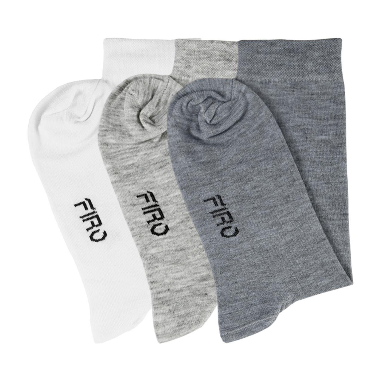 جوراب مردانه فیرو کد FT267 مجموعه 3 عددی