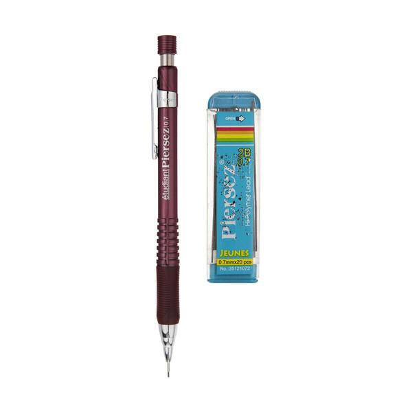 مداد نوکی 0.7 میلی متری پییرسز کد 17251007 به همراه 1 بسته نوک